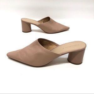 Zara woman pinkish/beige heels size 41